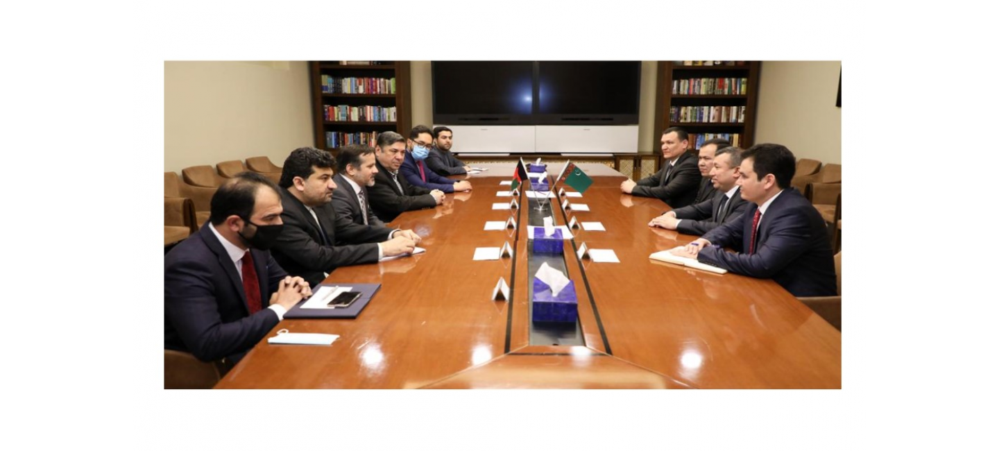 A TURKMEN-AFGHAN MEETING WAS HELD ON THE TAPI GAS PIPELINE CONSTRUCTION PROJECT