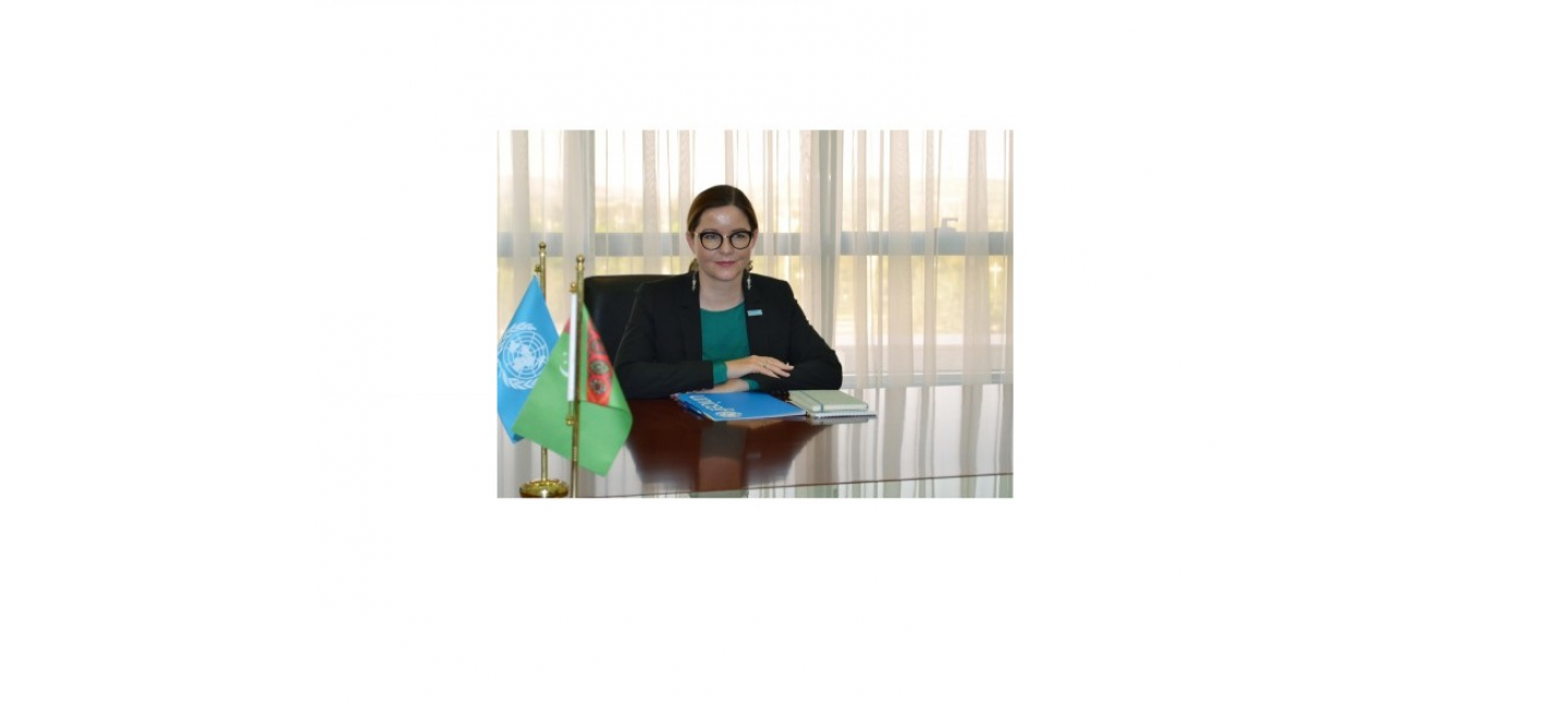 A MEETING WITH THE UNICEF COUNTRY REPRESENTATIVE WAS HELD AT THE MFA OF TURKMENISTAN