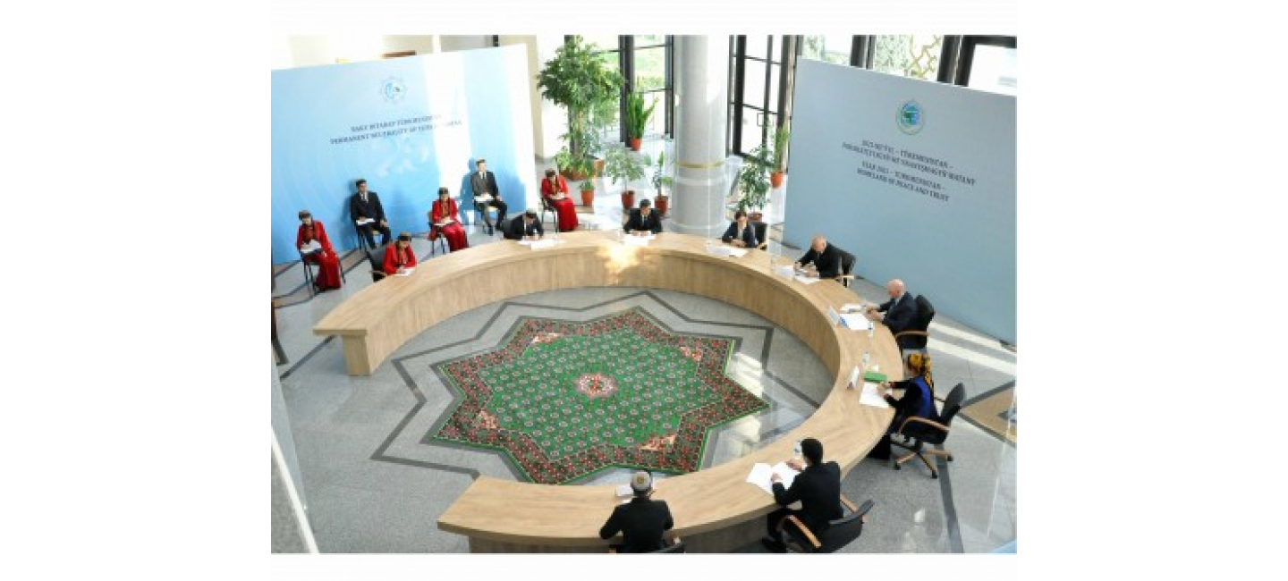 "A ROUND TABLE WAS HELD ON THE RESULTS OF THE INTERNATIONAL CONFERENCE ""GLOBAL COOPERATION OF INDEPENDENT, NEUTRAL TURKMENISTAN FOR THE SAKE OF PEACE AND TRUST"""
