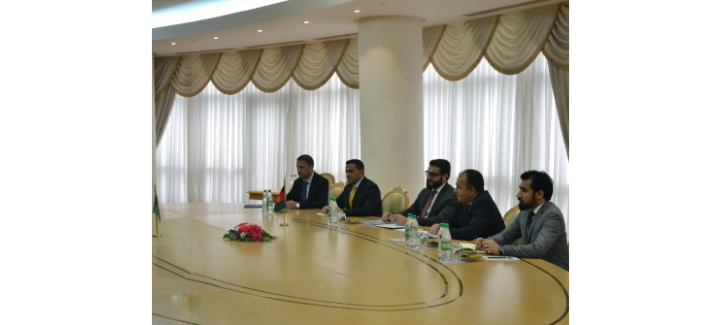 A WORKING VISIT OF THE DELEGATION OF AFGHANISTAN TO TURKMENISTAN