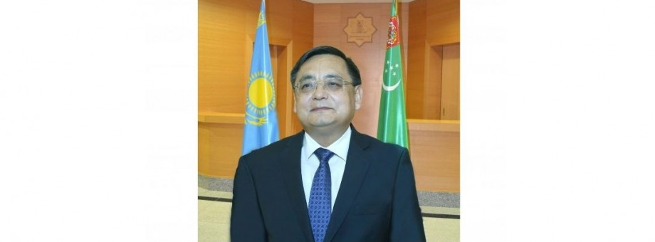 MINISTER OF FOREIGN AFFAIRS OF TURKMENISTAN DISCUSSED THE